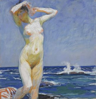 Nude Girl at the Seaside 1903.jpg