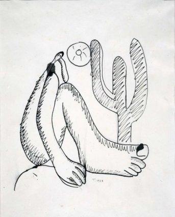 Abaporu. Dibujo 1928jpg.jpg