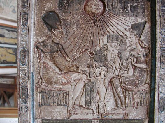 Anjesenamon, Nefertiti y sus hijas.jpg