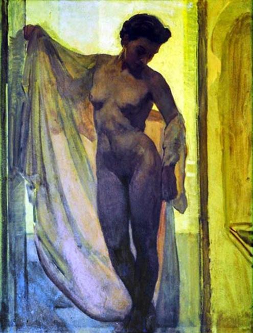 Anselmo Miguel Nieto - Mujer en el baño.jpg