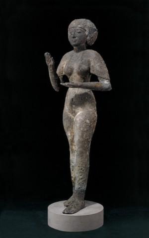 estatua de cobre del tercer periodo intermedio