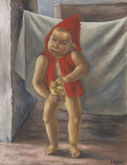 Niño y pájaro 1941--juan-soriano-moma.jpg