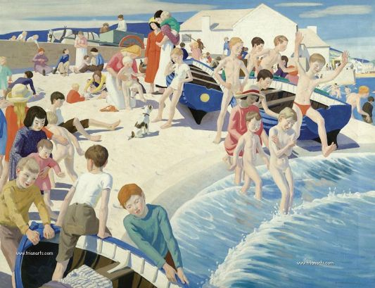 780 Ernest Procter - 1 On the Beach at Newlyn.jpg