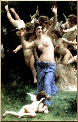 invadir reino de Cupido