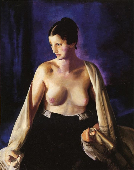 Nude with White Shawl, 1919