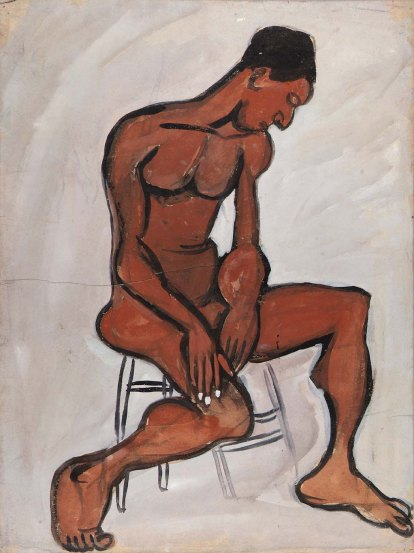 Male nude in stool (1939-1940).jpg