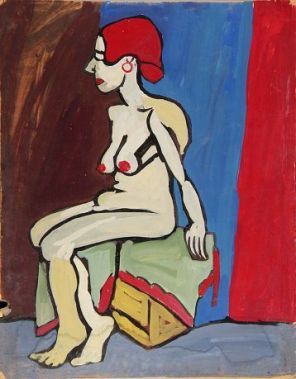 Seated Female Nude With Red Hair.jpg