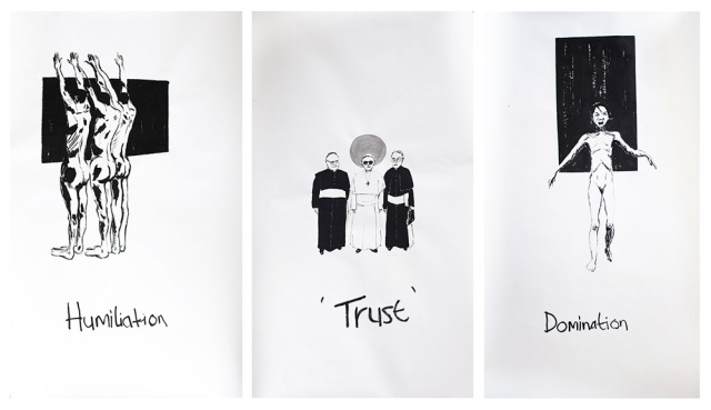 Themba-Shibase_Humiliation-Trust-Domination_2015_Ink-on-Paper_151-x-98-cm-each-triptych_web.jpg