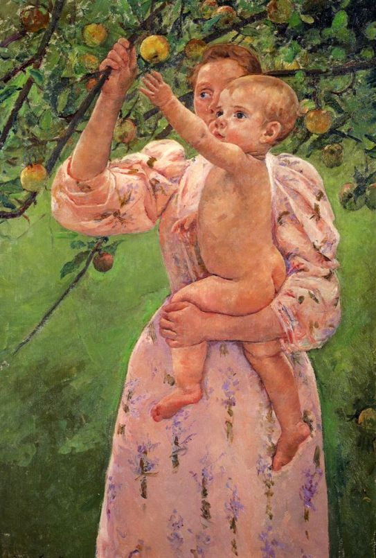 Baby Reaching For An Apple.jpg