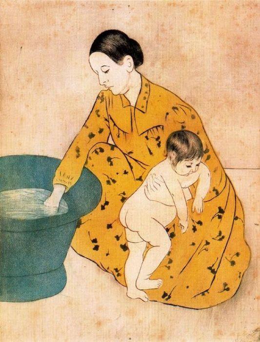el baño del niño, 1893 - japonismo.jpg