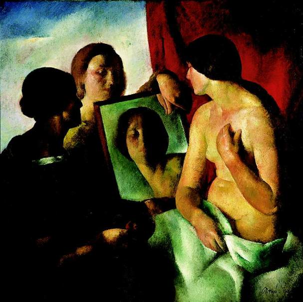 In-Front-of-a-Mirror-1923-Karoly-Patko-Oil-Painting.jpg