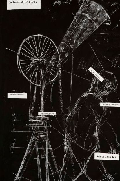 William Kentridge, Drawing for Refusal of Time. In Praise of Bad Clocks, 2011.jpg