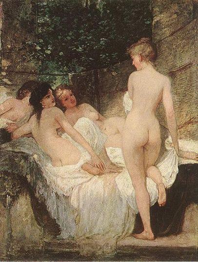 454px-Károly_Lotz_(1833-1904)_After_the_Bath_1880.jpg
