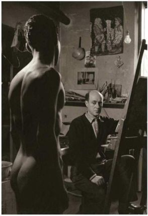 Tannin Tsarouchis with model (1949) Herbert List.jpg