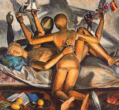 1931-32+Gregorio Prieto+Los maniquíes