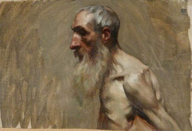 Half-Length Portrait of a Nude Man with a Beard.jpg