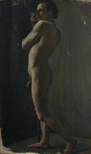 Desnudo académico - Henner